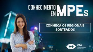Programa de Capacitação em MPEs: conheça os Regionais sorteados