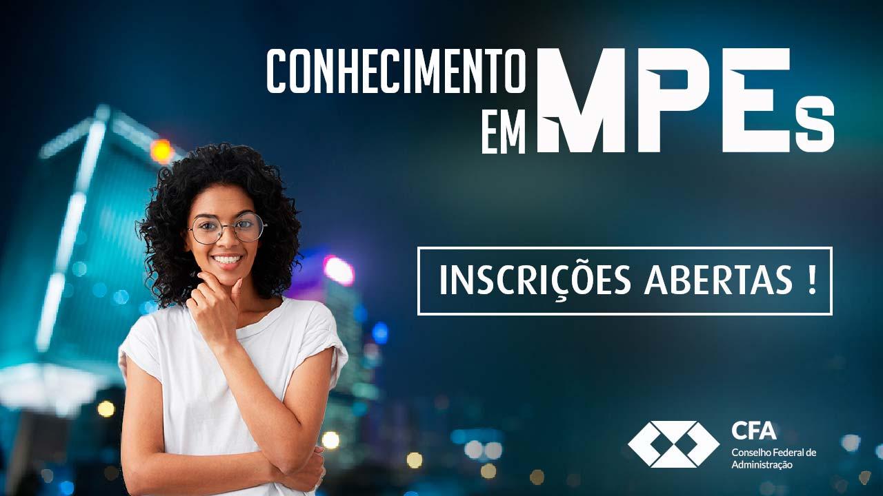 Inscrições abertas para o Programa de Capacitação em MPEs