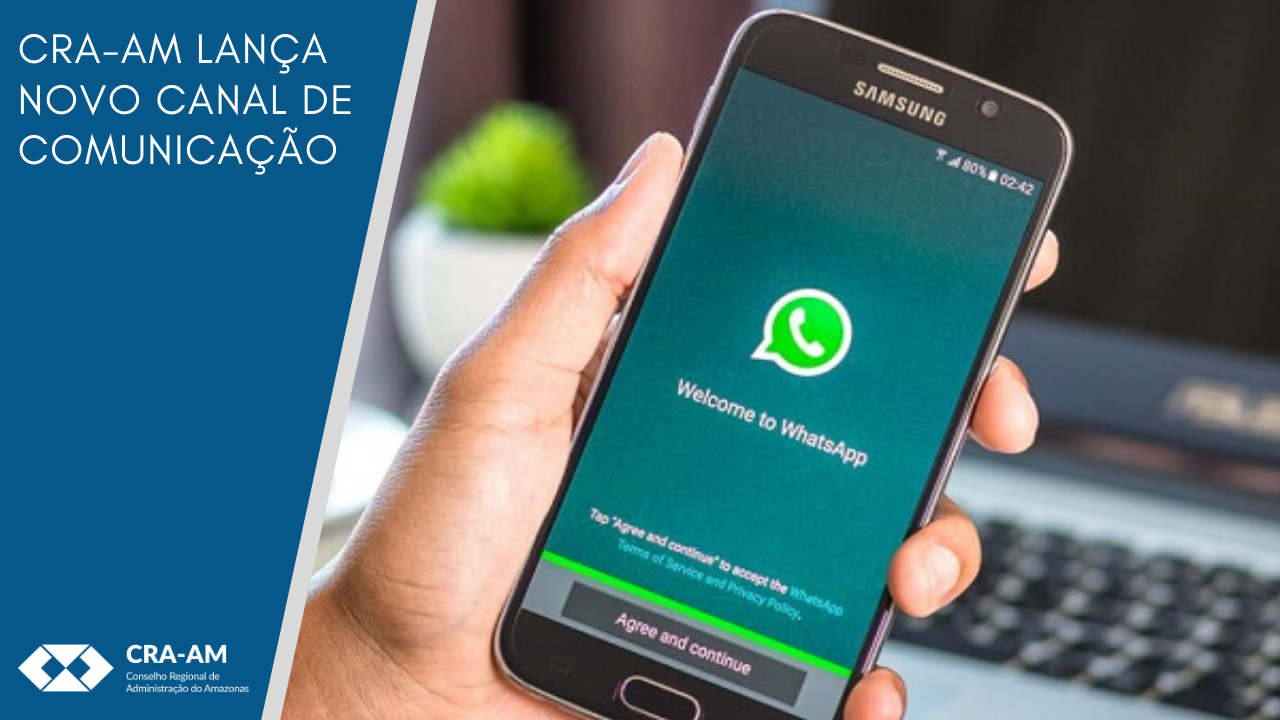 CRA-AM no seu WhatsApp