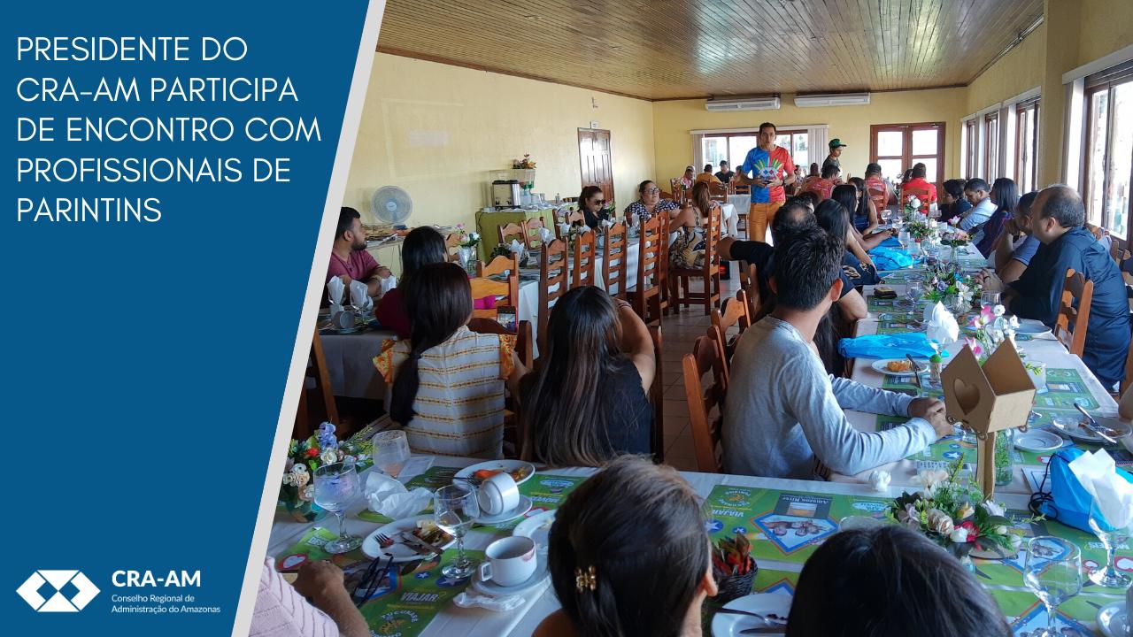 Profissionais e acadêmicos participam de ações do CRA-AM em Parintins