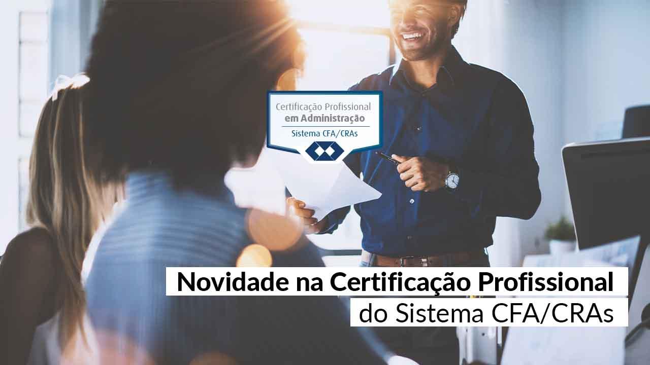Notícia CFA – Valor de inscrição é reduzido para atender profissionais em tempo de crise