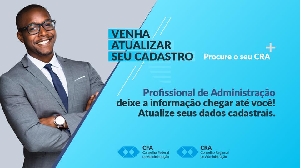 Notícia CFA – CFA dá início a campanha de atualização cadastral