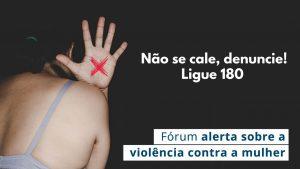 Evento online reuniu profissionais para falar sobre a violência doméstica e psicológica contra a mulher