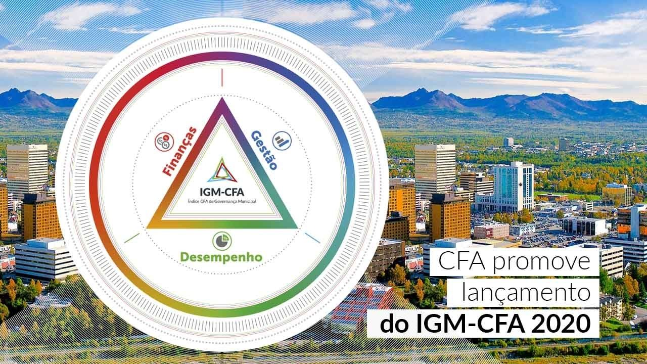 Notícia CFA – CFA promove lançamento do IGM-CFA 2020