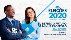 Eleições do Sistema CFA/CRAs ocorrem nesta semana de forma online no site Vota Administrador