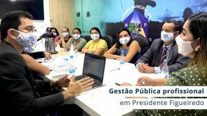 Prefeita eleita no município recebeu representantes do CRA-AM e grupo de tecnólogos em gestão pública