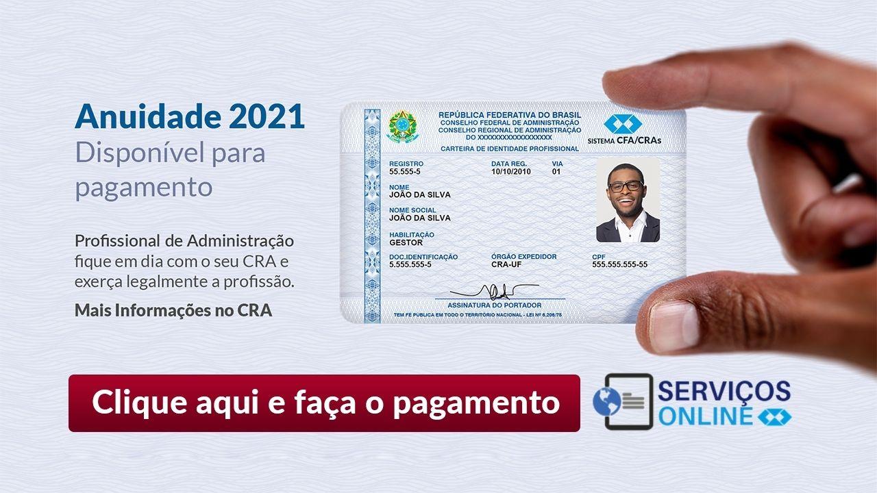 Anuidade CRA-AM 2021