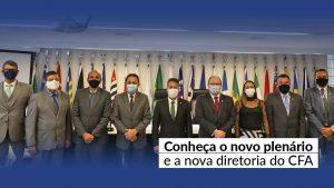 Notícia CFA – Mauro Kreuz é reeleito por unanimidade presidente do CFA