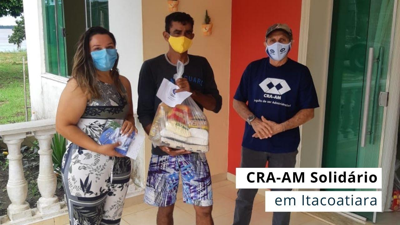 Conselheiros do CRA-AM se unem e realizam doações de cestas básicas e máscaras de proteção individual