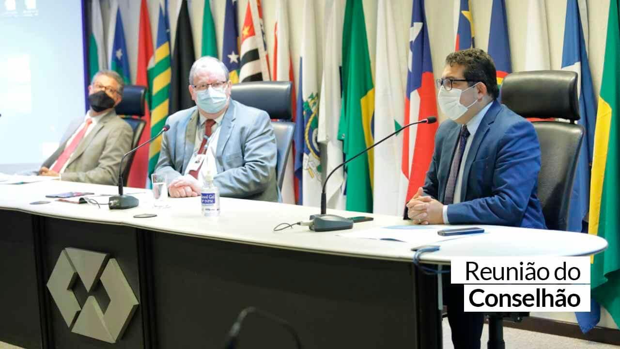 Notícia CFA – Conselhos profissionais se reuniram no CFA para definir ações de 2021