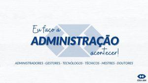CRA-AM lança campanha institucional com foco na valorização dos Profissionais da Administração