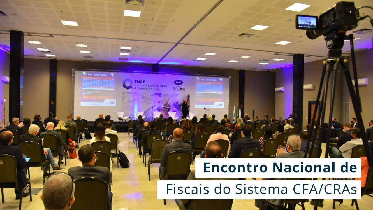 Read more about the article ENAF discute práticas assertivas para a área de Fiscalização dos Conselhos Regionais de Administração