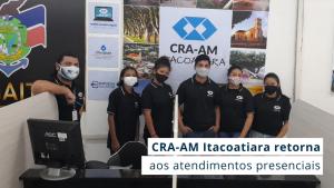 Read more about the article Representação do Conselho localizada no PAC Itacoatiara retorna às atividades com nova equipe de atendimento